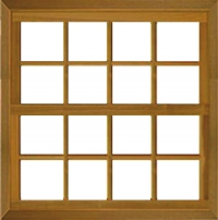 Janela GUILH. Abrir reta 1,20 x 1,20 itauba