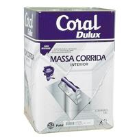 MASSA CORRIDA BRANCA CORAL 18L