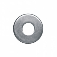 (3308) ARRUELA LISA ZINC 1/4 KG WORKER